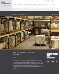 fenetre Journal du CNRS WEB